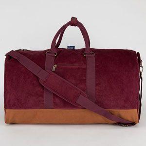 63ddab07219876 CHUCK ORIGINALS Yeah Corduroy Duffle Bag   Things and Stuff   Bags ...