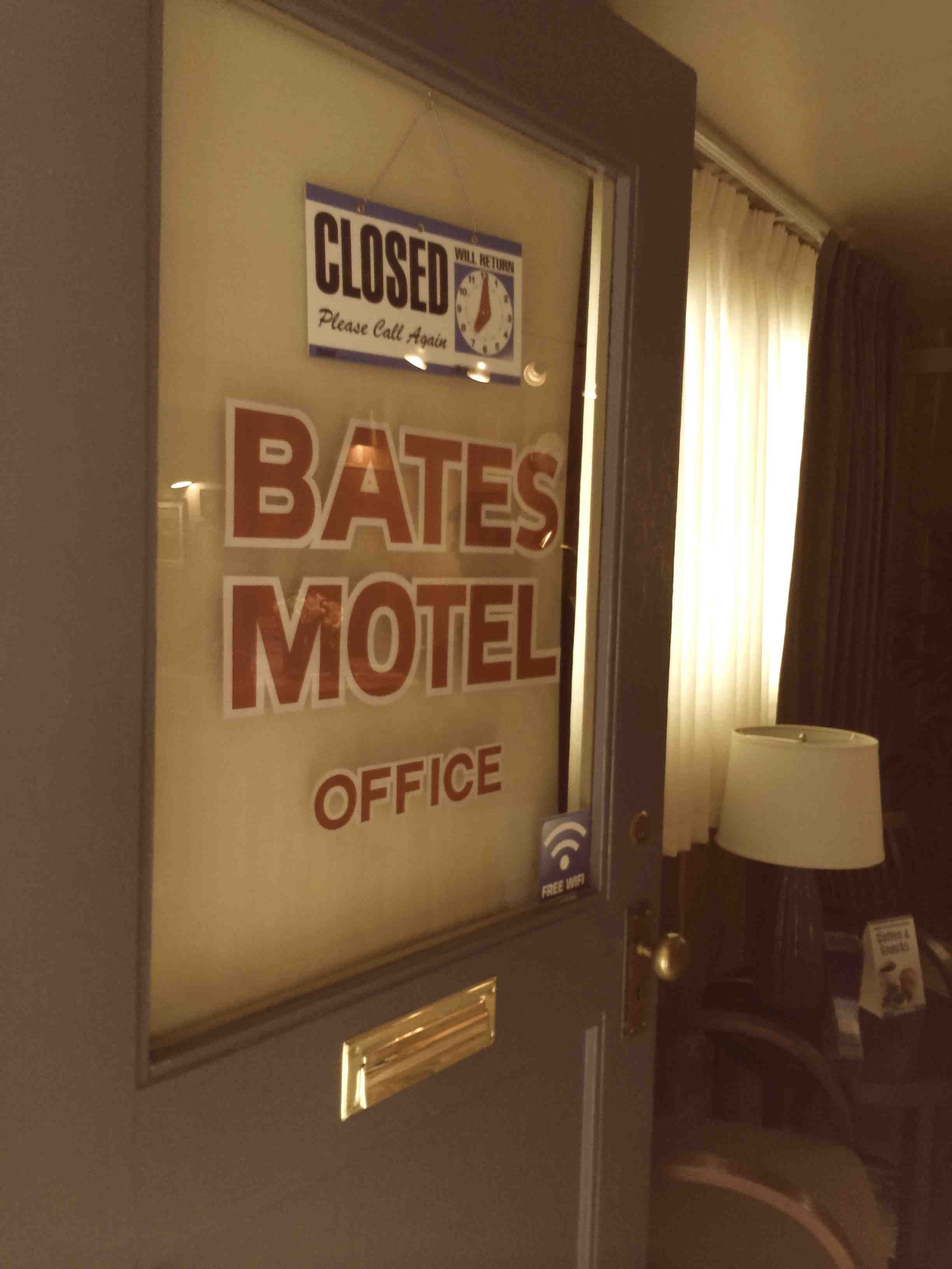 If you're in Oregon, spend a night at BatesMotel.