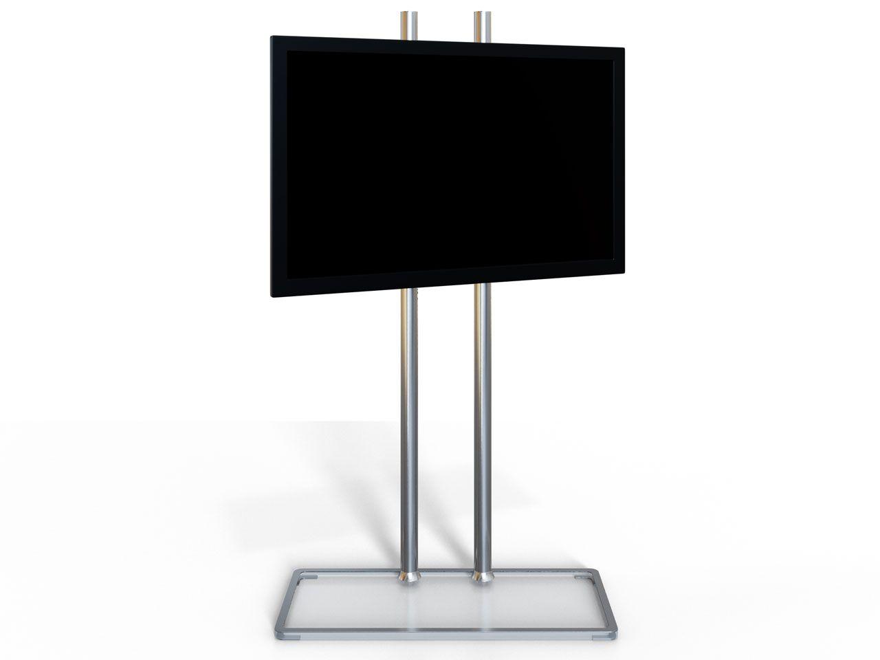 Fernsehstander Mit Standfuss Aus Acrylglas Cmb Clear 278 Standfuss Acrylglas Glas