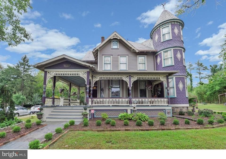 For The Love Of Old Houses Shared A Post 13 W Mantua Avenue Wenonah New Jersey C 1874 5 253 Square Feet 7 B Old Houses For Sale Old Houses Victorian Homes