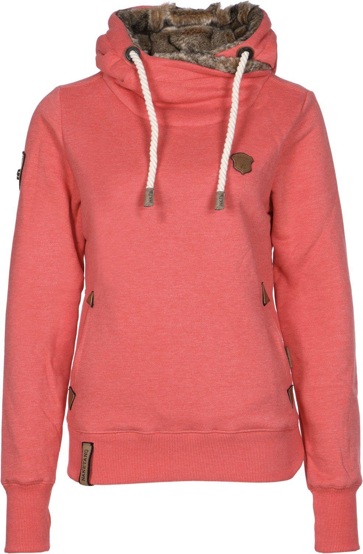 Naketano Damen Women Sweatshirt Kapuzenpullover Muschinski W Hoodie Size  XL f8f48799c6
