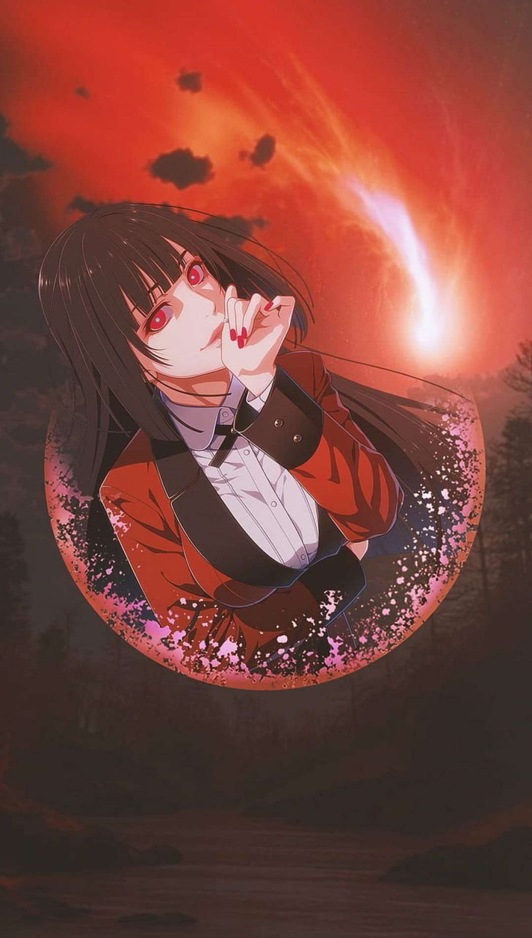 Kakegurui Android Iphone Desktop Hd Backgrounds Wallpapers 1080p 4k 127046 Hdwallpapers Androi Yandere Anime Cute Anime Wallpaper Anime Wallpaper