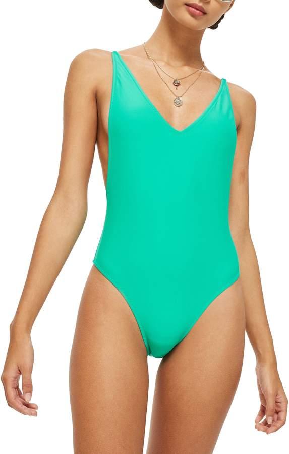027cf92ac62bc Topshop Pamela One-Piece Swimsuit | Beautiful lines | One Piece ...