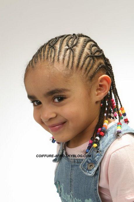 Tresse africaine pour fille tresse enfants Coiffure