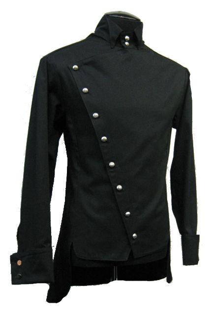 50f7b4b7e4e Shrine Empire Gothic Vampire Dracula Steampunk Poet Pirat Victorian Jacket  Shirt