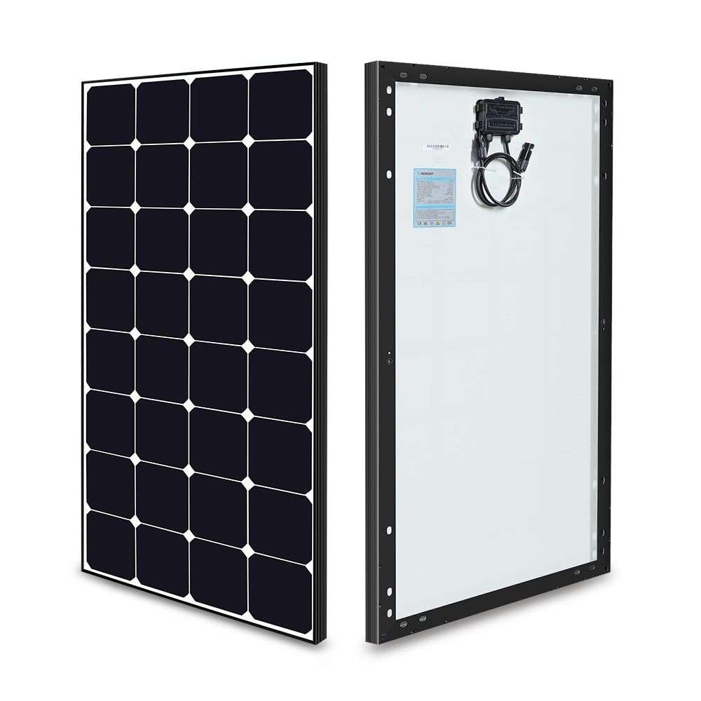 Eclipse 100 Watt 12 Volt Monocrystalline Solar Panel In 2020 Solar Panels Monocrystalline Solar Panels Solar Power Panels
