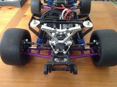 1 10 Traxxas Slash 4x4 Lcg Custom Gt8 Fully Upgraded 1 8