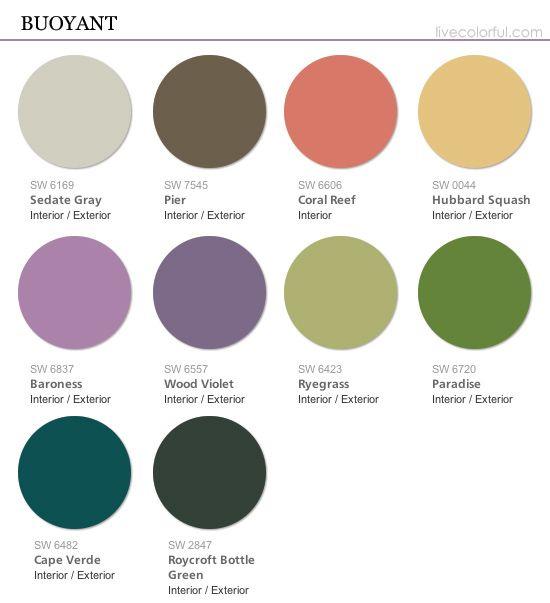 Tendencias de color sherwin williams colormix 2015 - Tonos de pintura ...