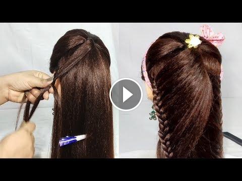 Simple Hairstyles For Long Hair Hair Style Girl Hairstyles Easy Party Hairstyle Easy Party Hairstyles Girls Hairstyles Easy Easy Hairstyles For Long Hair