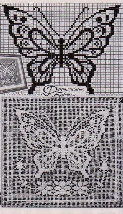 Pin von Mary Bush auf butterflies cross stitch ll | Pinterest ...