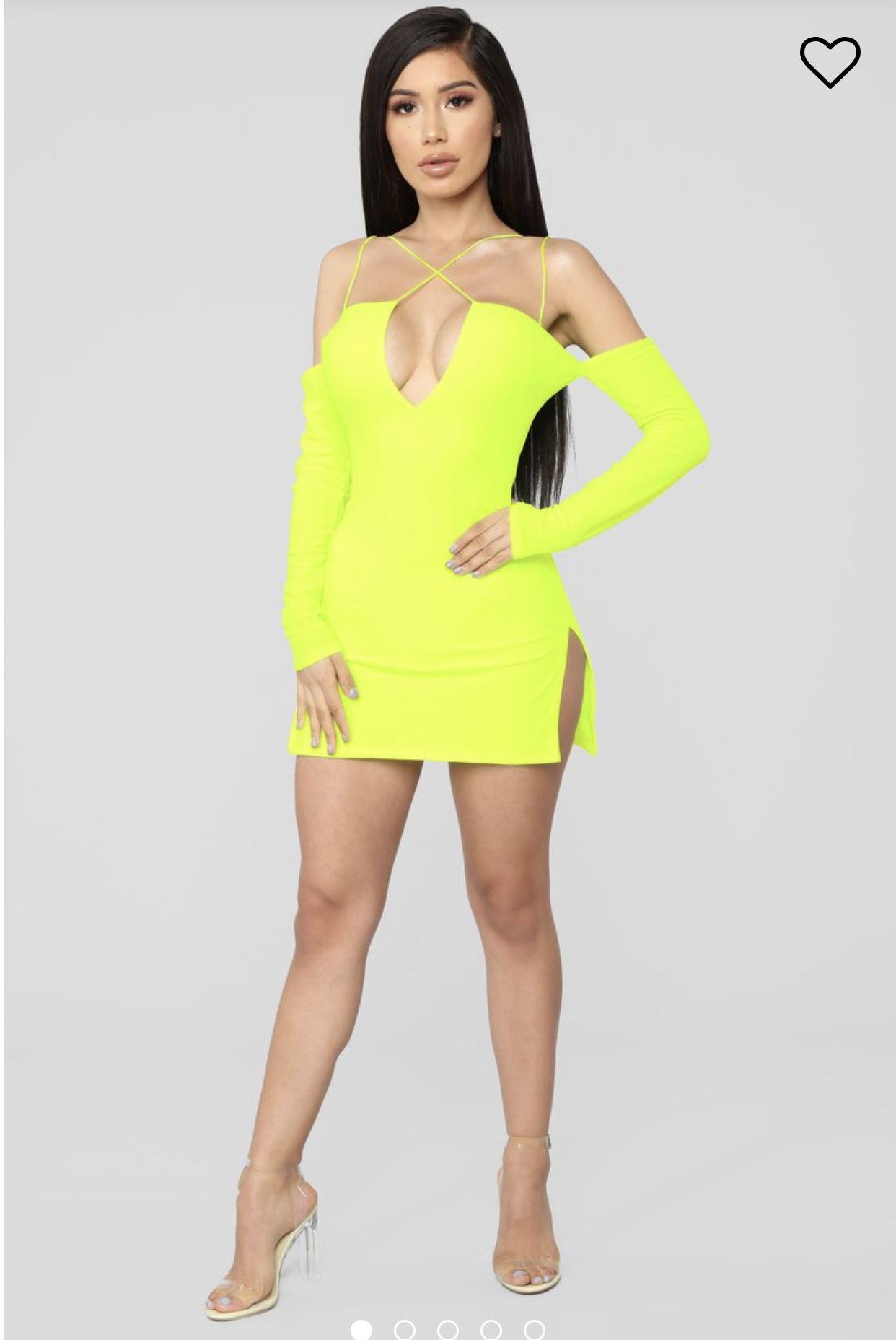 Idea by Andy McCaulay on Ouch Neon yellow dresses, Mini