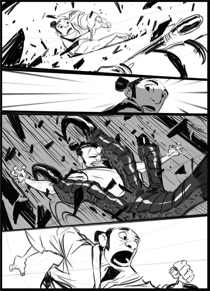 An Entry From Moss Forest  Comic Storyboard And Comic Layout