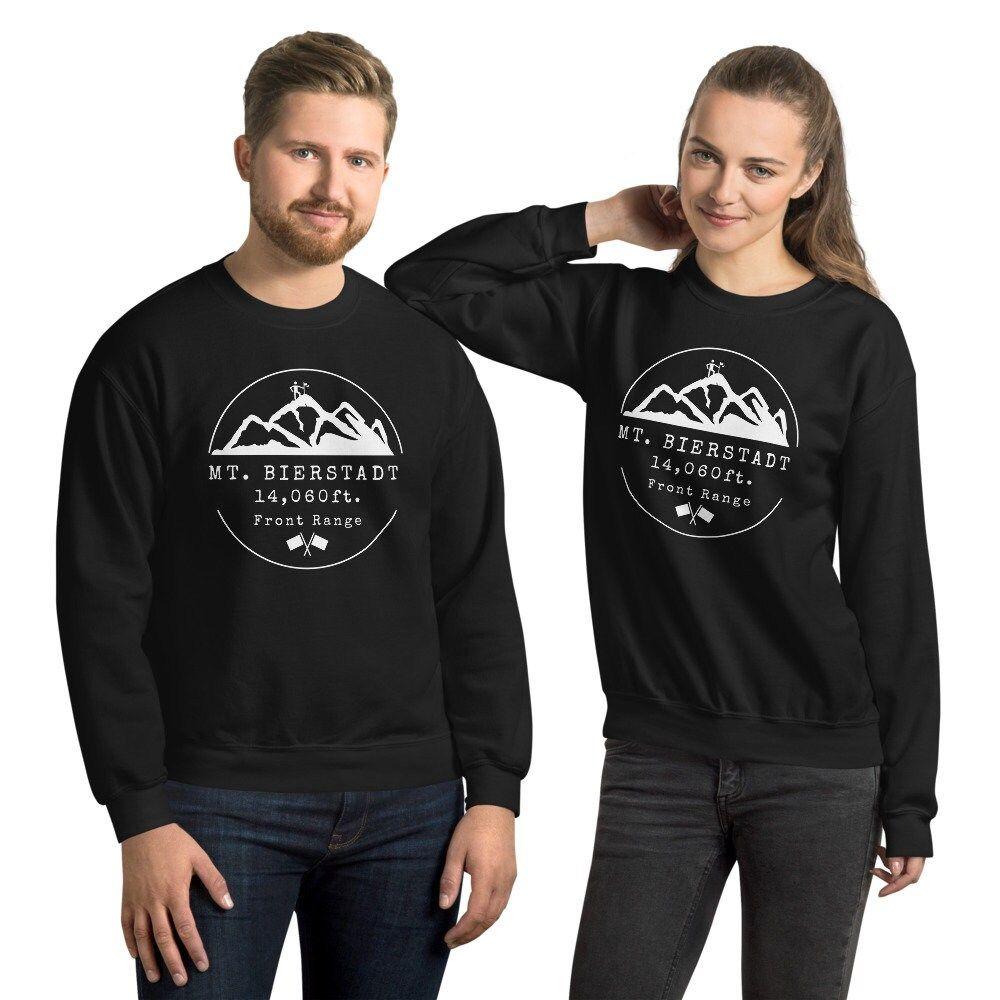Mt. Bierstadt Colorado 14er Unisex Sweatshirt