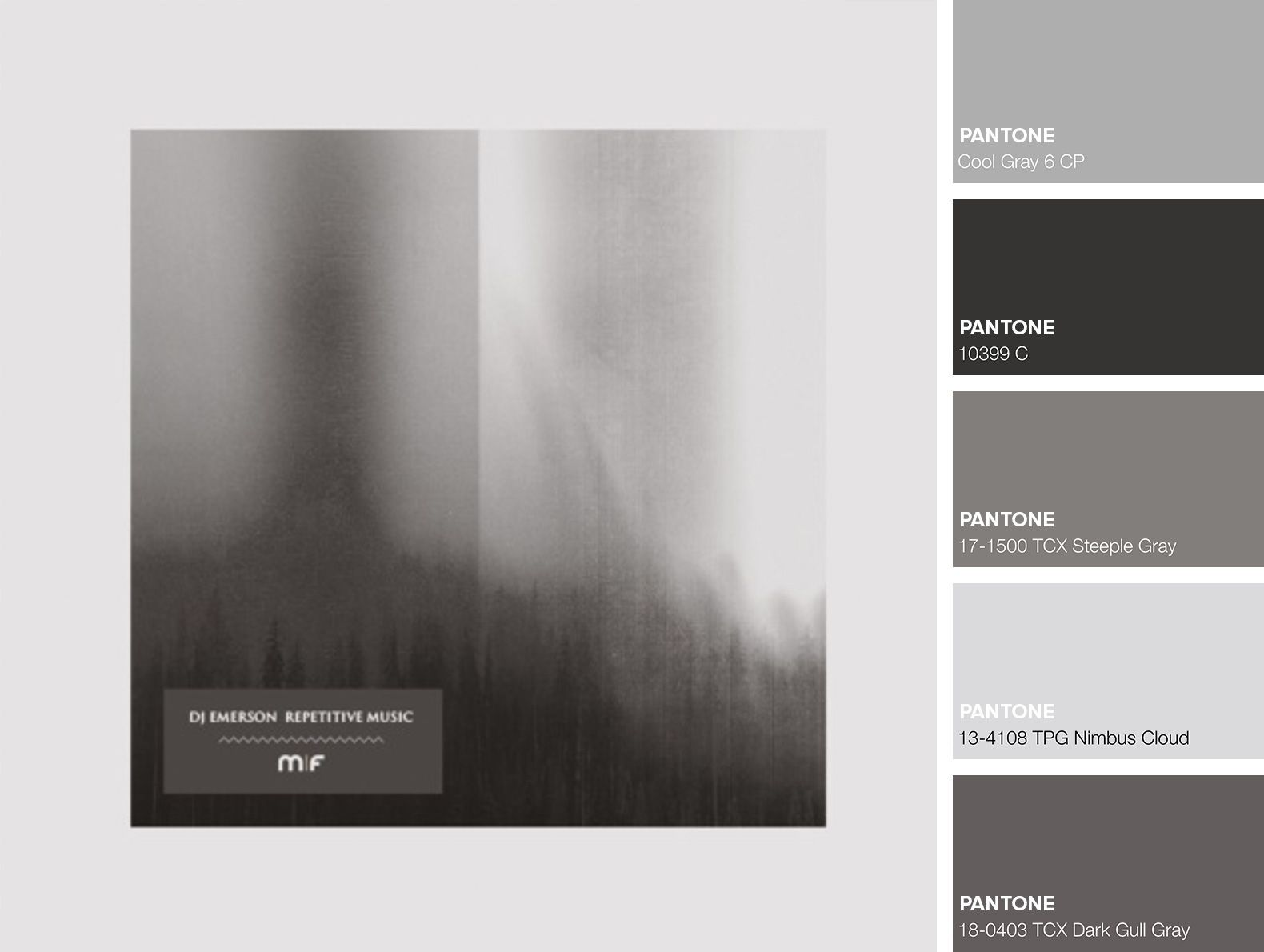 DJ Emerson - Repetitive Music | Colour Palettes | Music