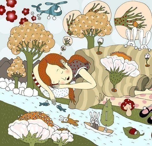 Elsa Mora, Forest, Animals