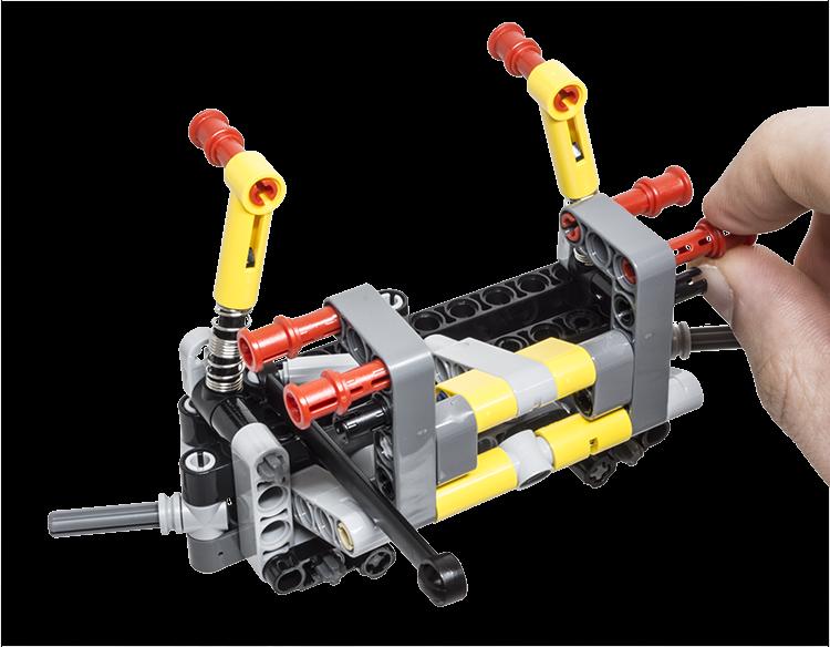 Lego Technic Building Tip Steer Axle Suspension Lego Building