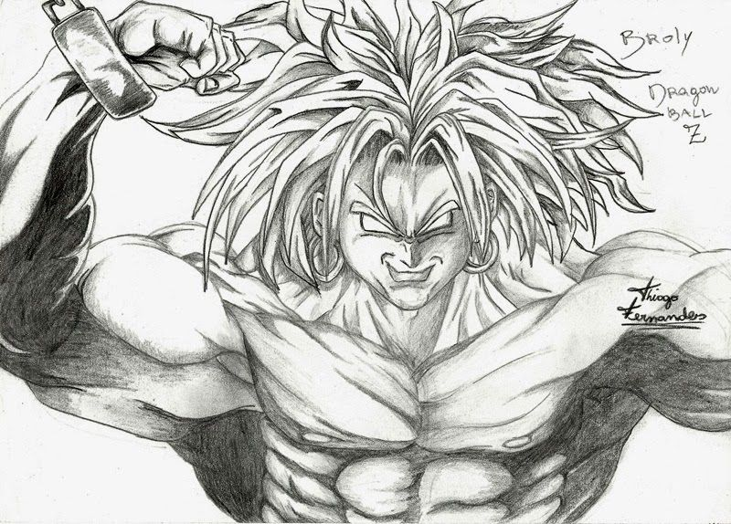 Broly - Dragon Ball Z. Arts