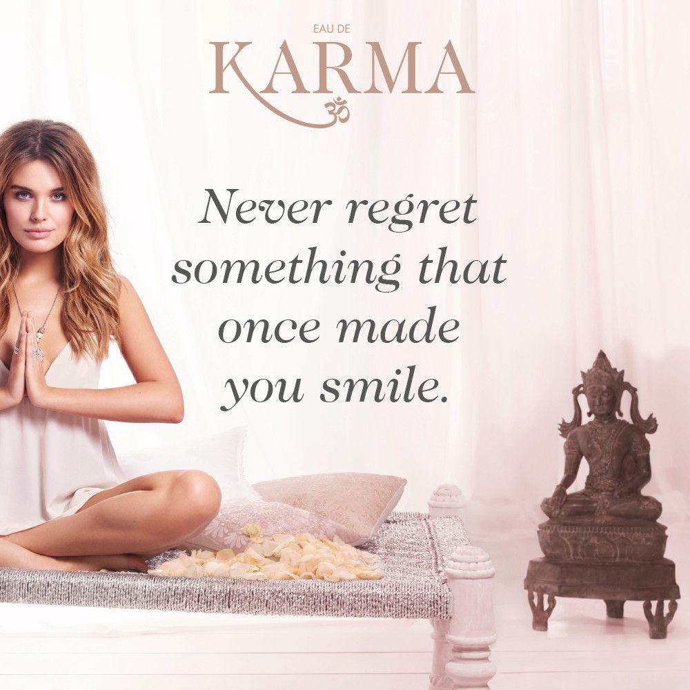 Smile Quote Never Regret Something That Once Made You Smile#quotes #karma .