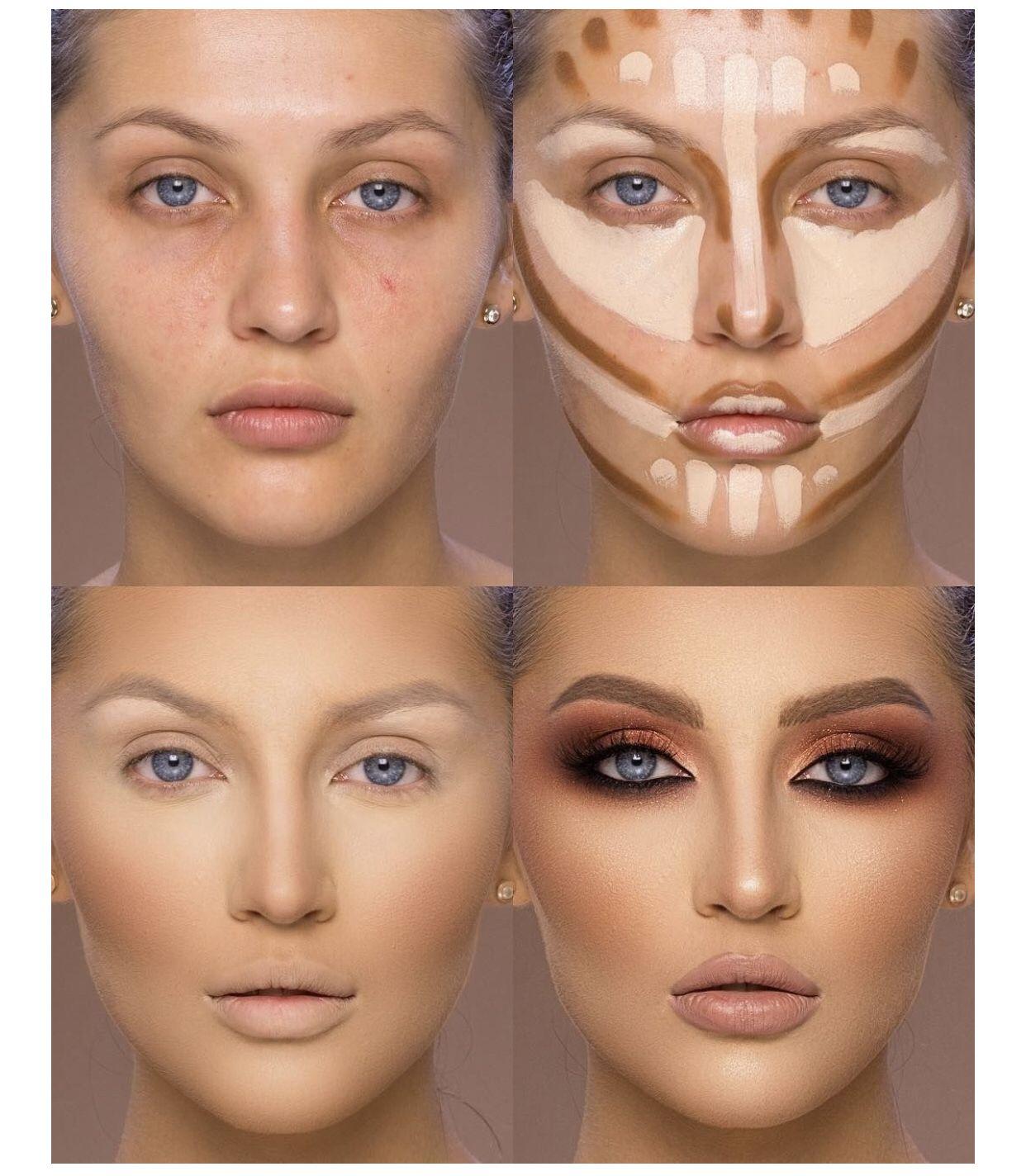 Wonderfull Contour Makeup Makeup Spray Contour Makeup Makeup Course