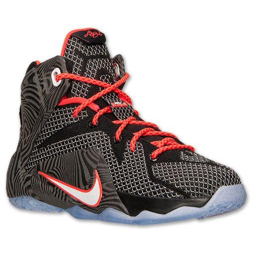 Kids Grade School Nike LeBron 12 Basketball Shoes 685181 005 Finish Line