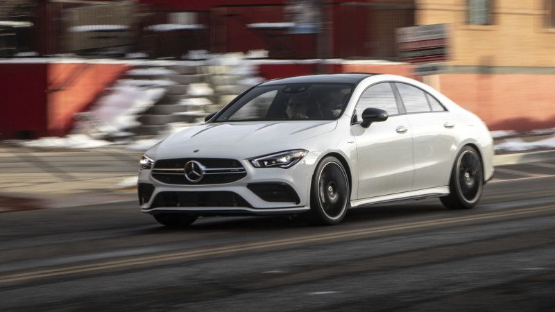 2020 Mercedes Amg Cla 35 First Drive Review Mercedes Amg Amg