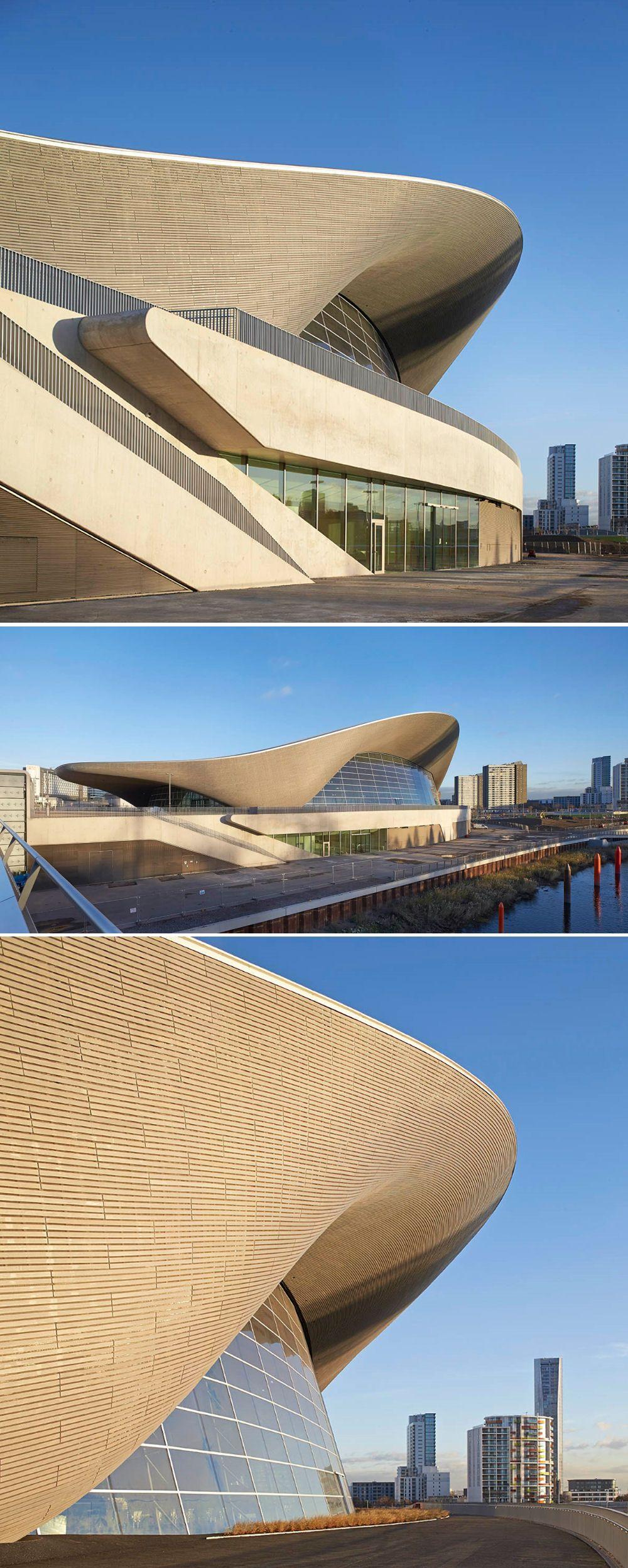 Aquatics centre by zaha hadid london zaha hadid zaha