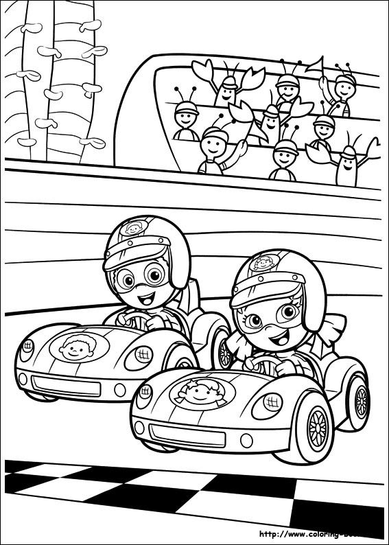 Bubble Guppies coloring picture | Coloring and Activities | Pinterest