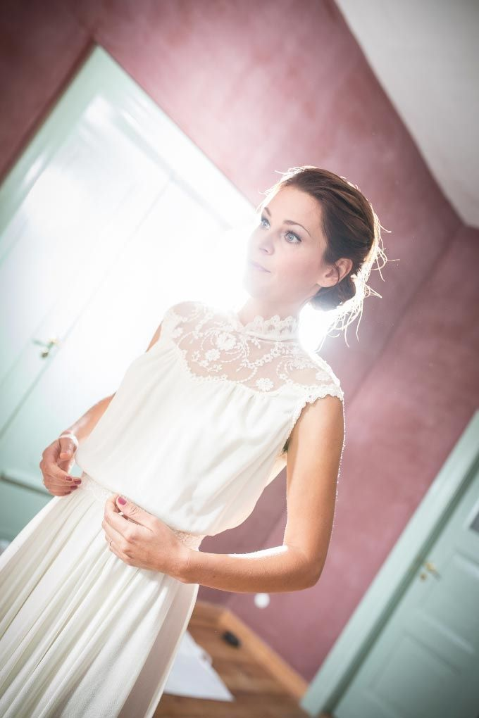 Vintage #Brautkleid / #BridalDress <3 Das tolle Foto wurde gemacht ...
