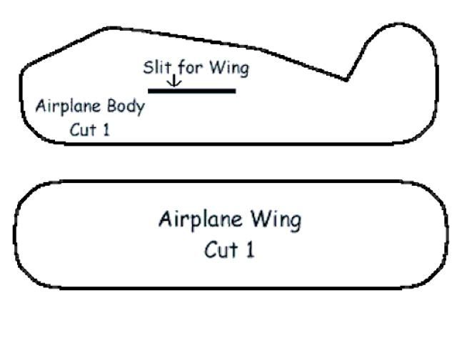 airplane cut out template - styrofoam airplane craft meat trays learning and craft