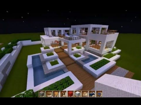 minecraft let 39 s show map pt 3 modernes haus markt. Black Bedroom Furniture Sets. Home Design Ideas