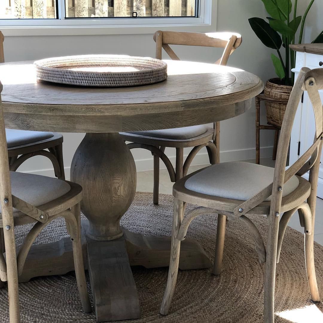 Small Dining Rooms Need Character Not Glass Loving The Weathered Oak Lucy Dining Table In This Garden Apartment Dining Table Weathered Oak Table