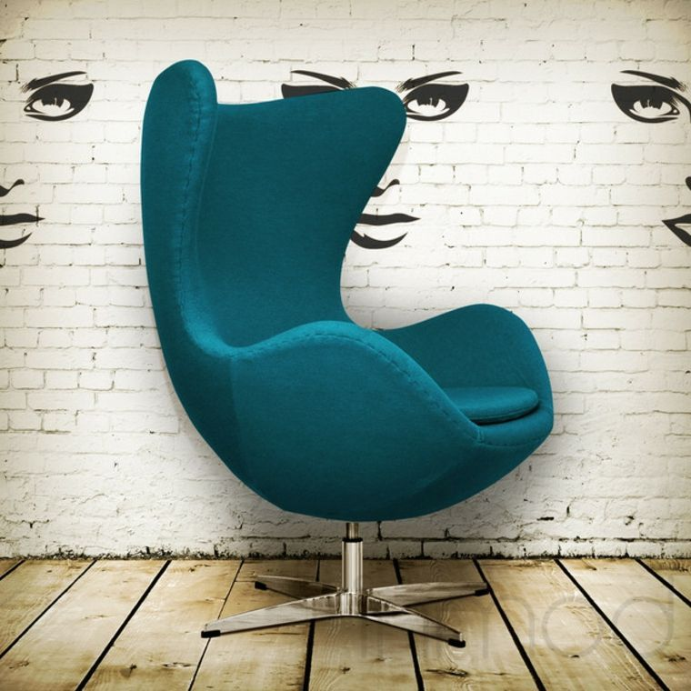 Chaise Oeuf Design Fauteuil Egg Egg Chair Best Computer Chairs Teal Chair