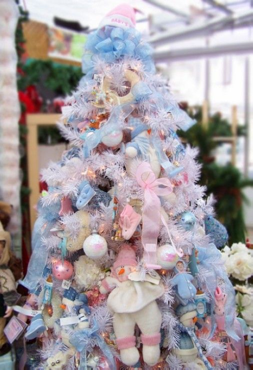 Beautiful Pastel Christmas Decorations Part - 5: 2013 Pastel Pink Christmas Tree Ornaments, Pastel Pink Christmas Tree, Pastel  Christmas Decorations #white #chirstmas #ornaments Www.loveitsomuch.com