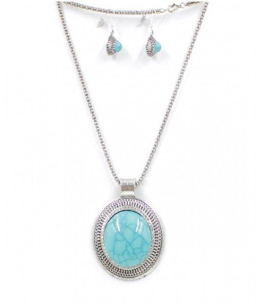 Conjunto colar e brinco medalão turco banhado a ouro ou prata, pedra de  varias cores cb4ffe65c0