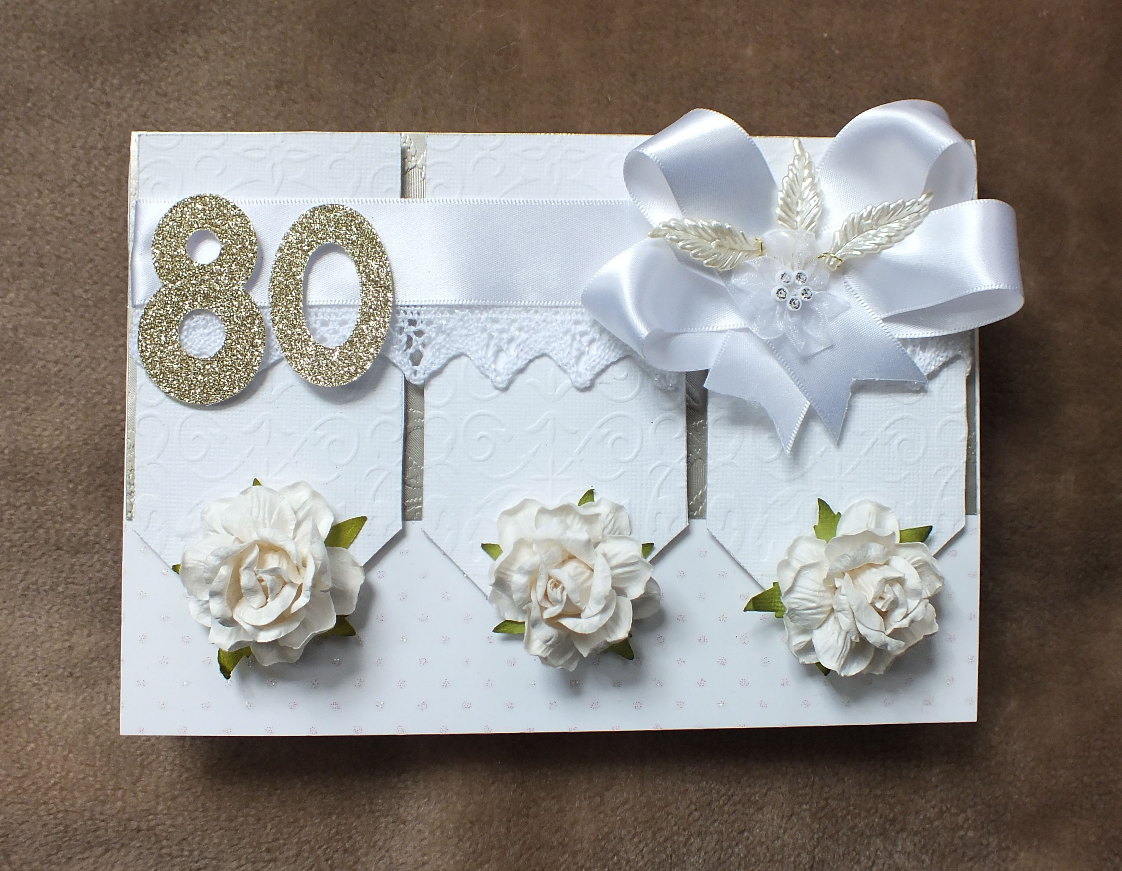 Handmade 80th birthday card by mandishella cards pinterest handmade 80th birthday card by mandishella bookmarktalkfo Image collections