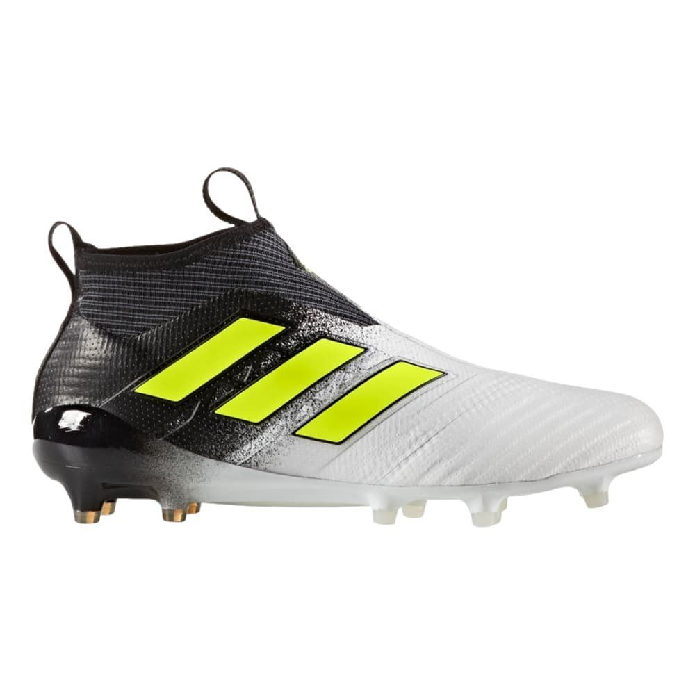 dfe60d928d0 adidas Ace 17 Purecontrol FG Cleat Mens Soccer 8 Running  WhiteElectricityBlack -- You can find out more details at the link of the  image.
