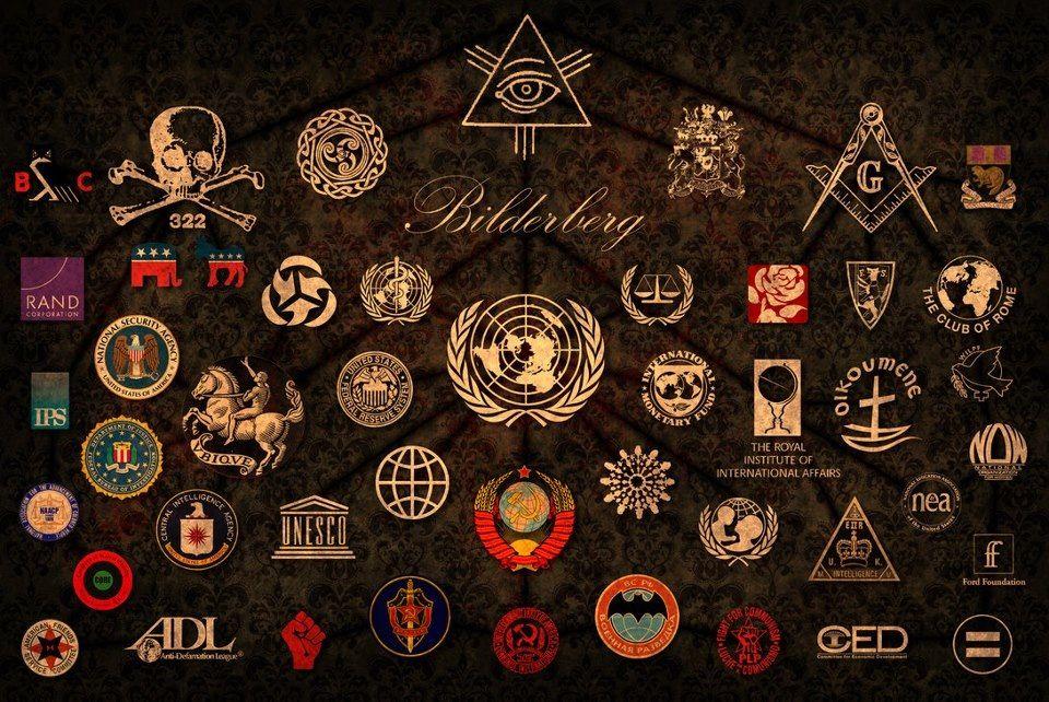 Bilderberg Controlled Organizations Organizacoes Secretas