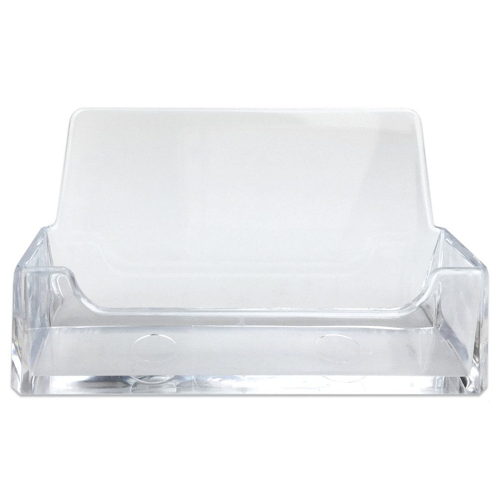 Beauticom Professional Acrylic Clear Standard Business Card Holder ...