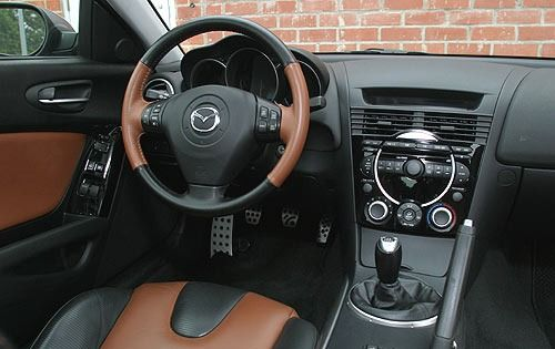 2004 Mazda RX 8 Interior W/Manual
