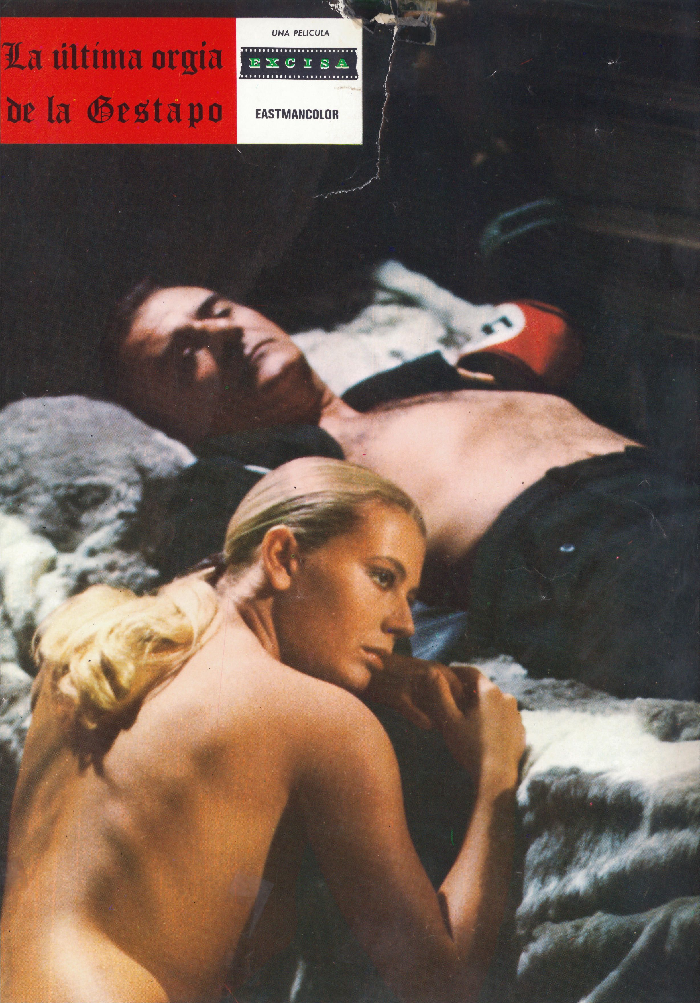 the last orgy of the third reich Double feature DVD featuring two exploitation classics: Caligula Reincarnated as  Hitler (a.k.a.