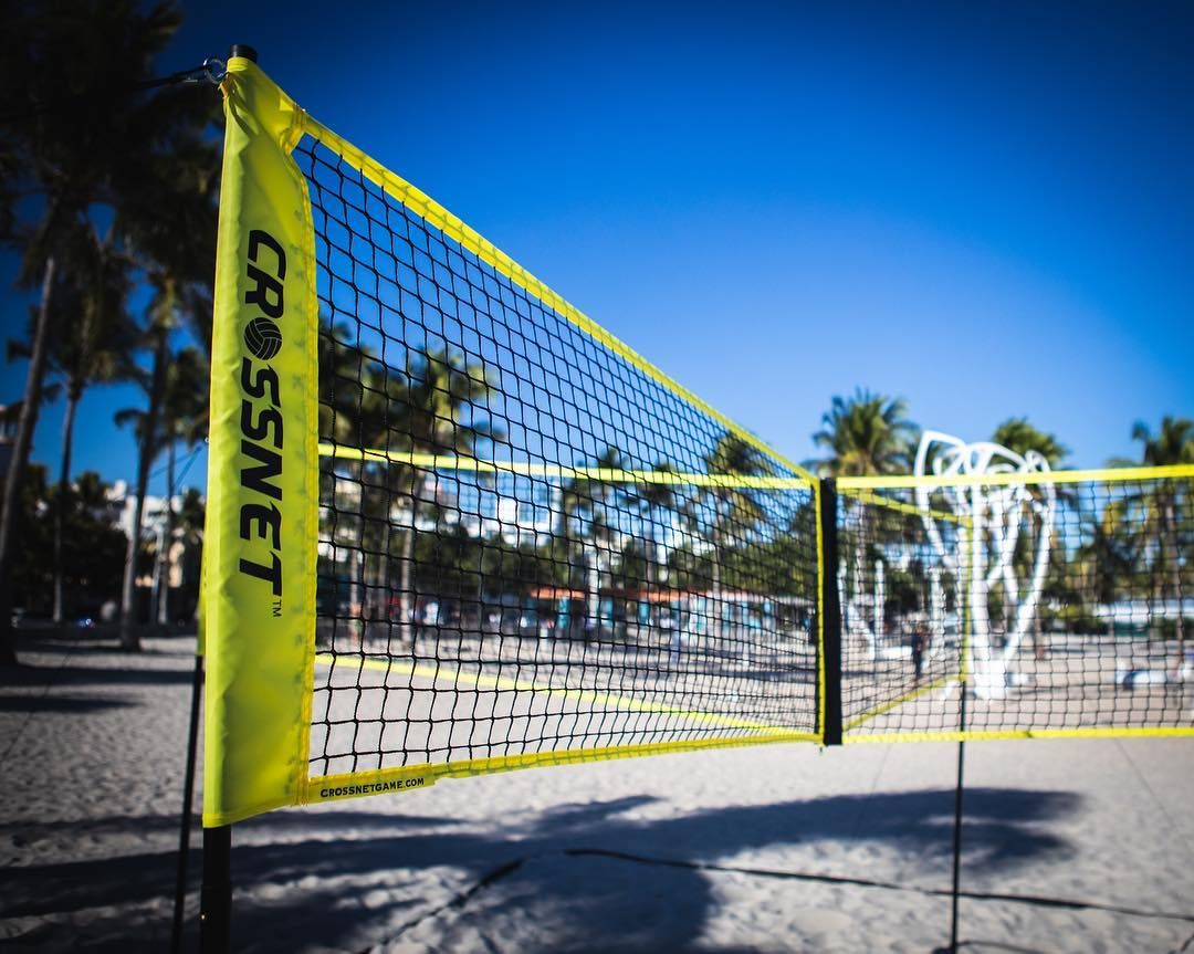 When Nets Cross A New Sport Is Born Volleyball Games Net Tennis Court