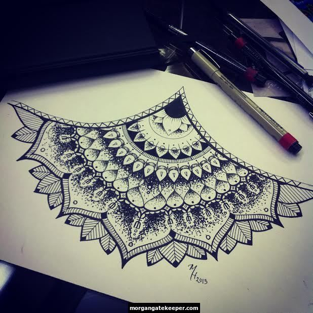 mandala henna pattern tattoo doodles pinterest. Black Bedroom Furniture Sets. Home Design Ideas