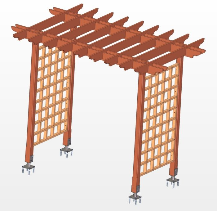 Trellis Design Ideas image of outdoor wood trellis 1000 Images About Free Arbor Plans On Pinterest Garden Arbor Arbors And Arbors Trellis