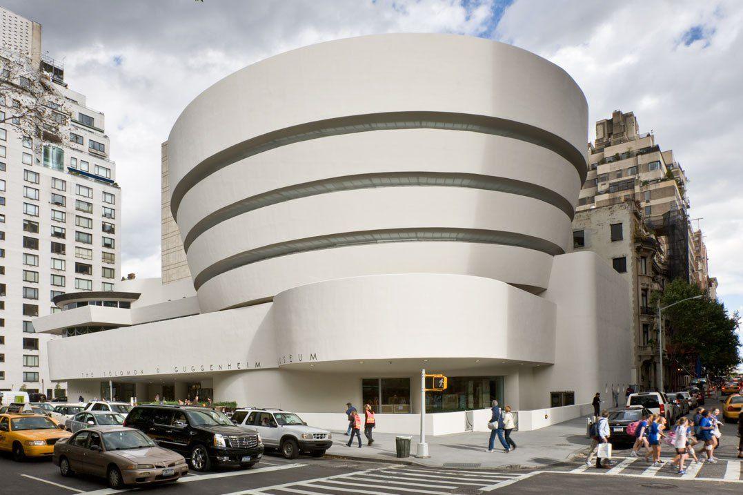 Guggenheim Museum Frank Lloyd Wright 1959 New York City Musea Museum Modernisme