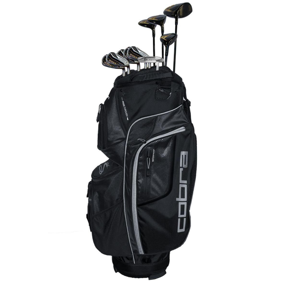 Golf Clubs Cobra Mens 2018 FMax Complete Set BlackGold