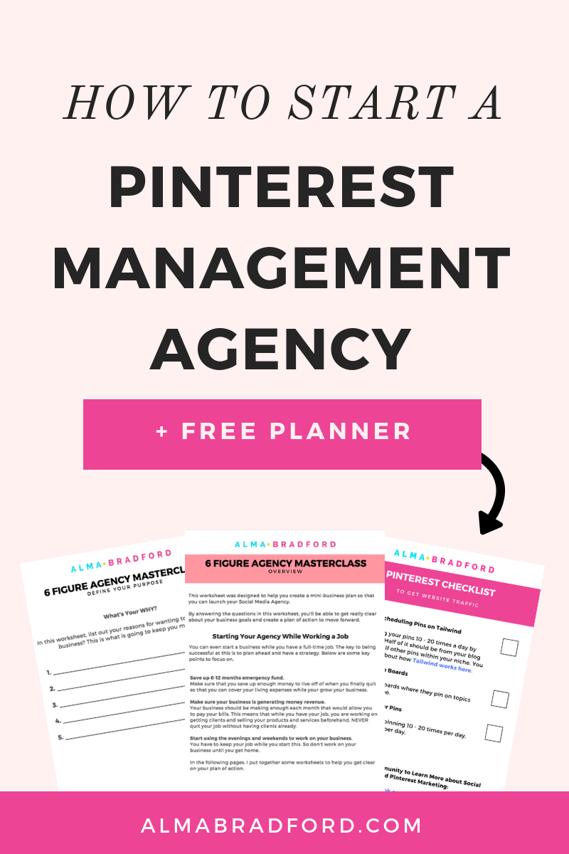 How to Start a Pinterest Management Agency Pinterest