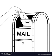 Post Office Mailbox Coloring Page Google Search Coloring Books Free Coloring Coloring Pages