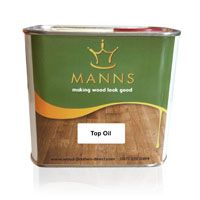 Manns Premier Top Oil Worktop Finishes Work Tops Plates Bowls