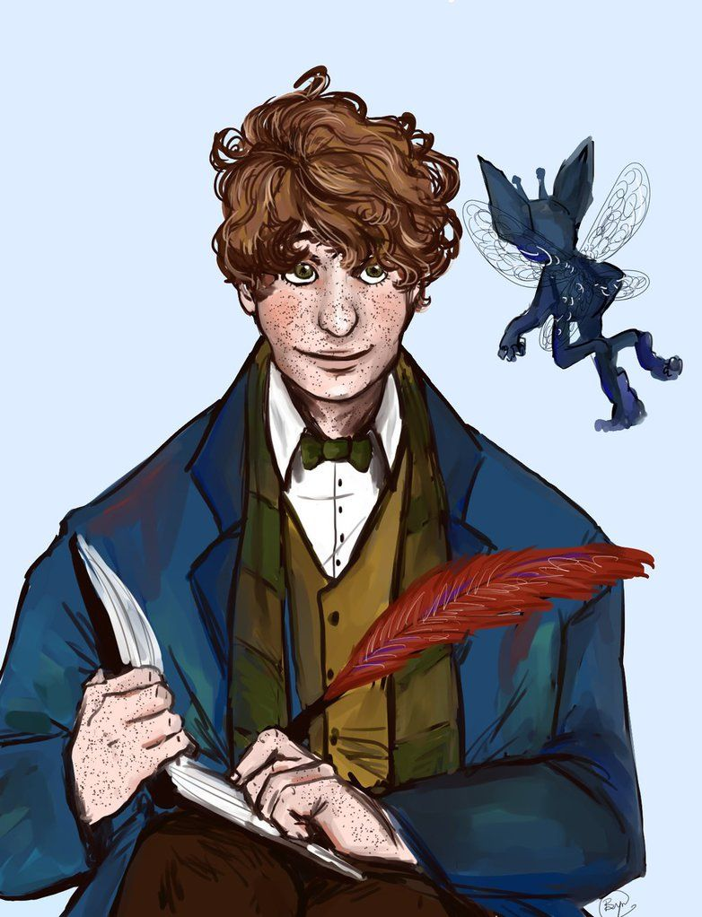 Newt Scamander From The Up Coming Harry Potter Movie Next Year I