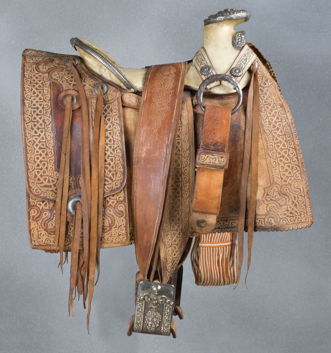 Important Mexican Saddle Made For Porfirio Diaz Old West